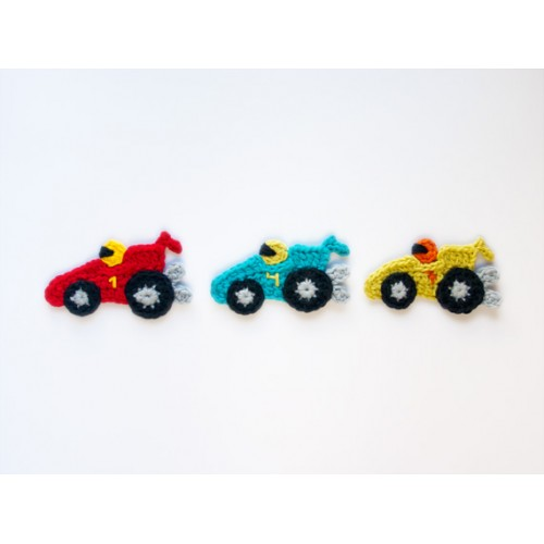 Car Applique Crochet