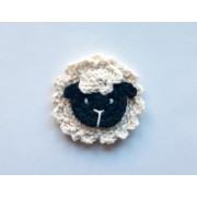 Sheep Applique Crochet