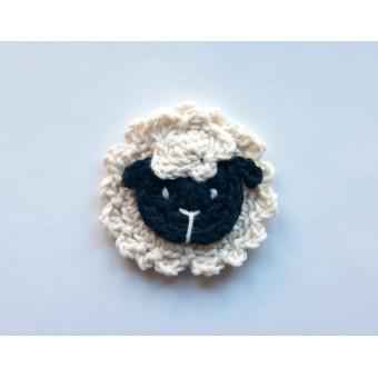 Sheep Applique Crochet