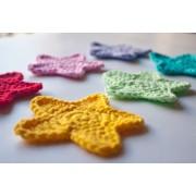 Star Applique Crochet