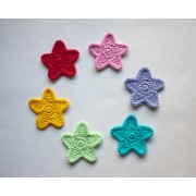 Star Applique Crochet