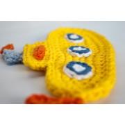 Yellow Submarine Applique Crochet
