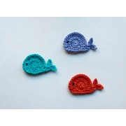 Whale Applique Crochet