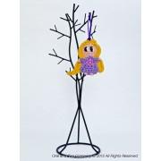 Baby Rapunzel Applique Crochet