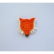 Fox Applique Crochet