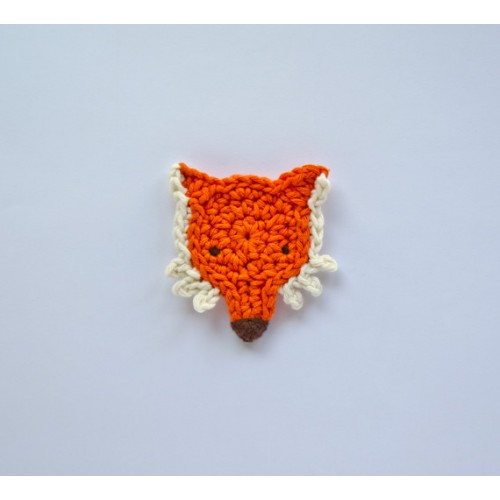 Crochet Fox : Fox Applique Crochet