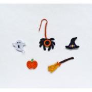 Halloween Set Applique Crochet