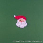 Santa Applique Crochet