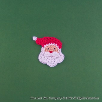 Santa Applique Crochet