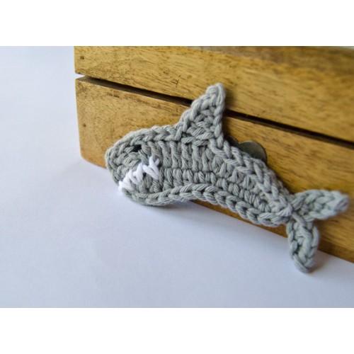 Shark Applique Crochet