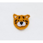 Tiger Applique Crochet