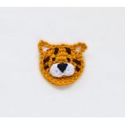 Tiger Applique Crochet