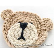 Teddy Bear Applique Crochet