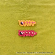 Caterpillar Applique Crochet