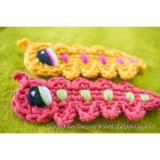 Caterpillar Applique Crochet