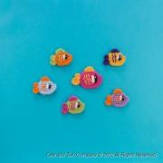 Happy Fishes Applique Crochet