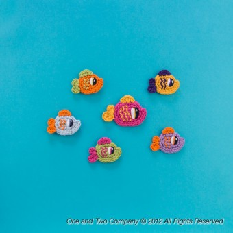 Happy Fishes Applique Crochet
