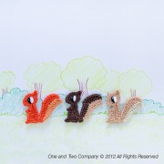 Squirrel Applique Crochet