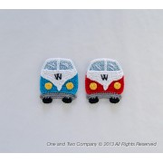 VW Camper Van Applique Crochet