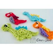 Dinos Applique Crochet