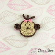 Monkey Applique Crochet