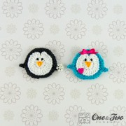 Penguin Applique Crochet