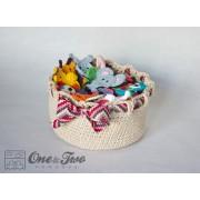 Adorable Big Basket Crochet Pattern