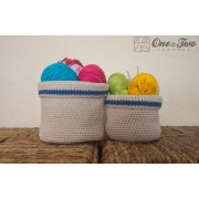 Baskets Crochet Pattern