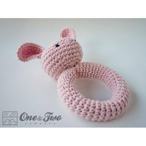 Bunny Rattle Crochet Pattern