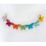 Colorful Garlands Collection - 4 Garlands Crochet Patterns Pack