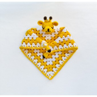 Giraffe Security Blanket Crochet Pattern