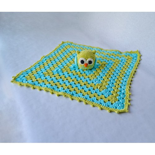 Free Crochet Owl Security Blanket Pattern Dancox For