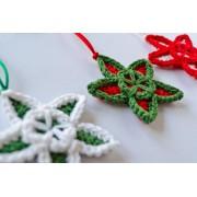 Multicolor Star Crochet Pattern
