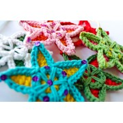 Multicolor Star Crochet Pattern