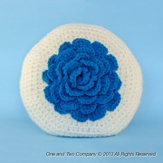 Big Flower Pillow Crochet Pattern