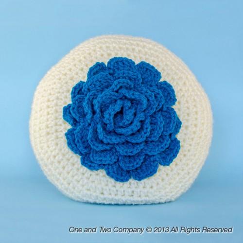 Easy Crochet Flower Pillow Pattern ~ manet for .