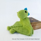 Dino Security Blanket Crochet Pattern