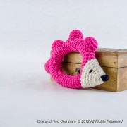 Hedgehog Rattle Crochet Pattern