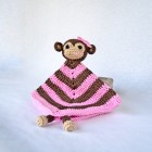 Monkey Security Blanket Crochet Pattern