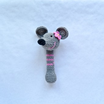 Mouse Rattle Crochet Pattern