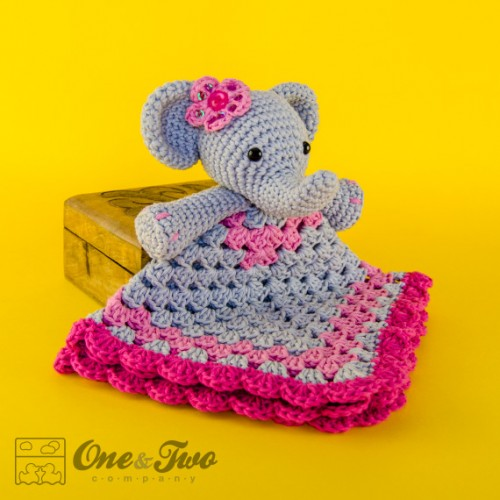 Baby Elephant Crochet Applique Pattern • Kerri's Crochet | 500x500