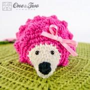 Hedgehog Security Blanket Crochet Pattern