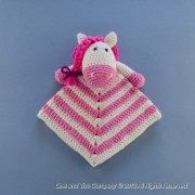 Pony Security Blanket Crochet Pattern