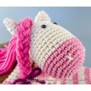 Pony Security Blanket Crochet Pattern