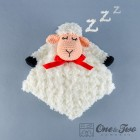 Sweet Sheep Security Blanket Crochet Pattern