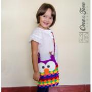 Colorful Owl Purse Crochet Pattern