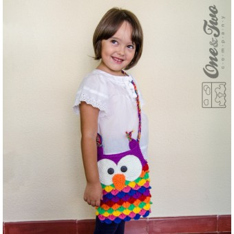 Colorful Owl Purse Crochet Pattern