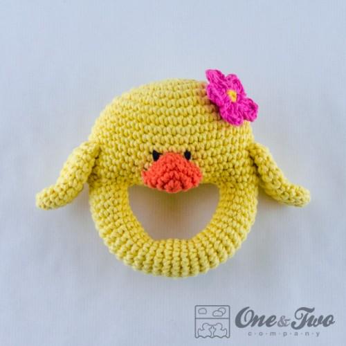 Duck Rattle Crochet Pattern