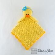 Duck Security Blanket Crochet Pattern