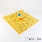Duck Security Blanket Crochet Pattern